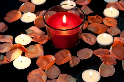 свечи романтика фото